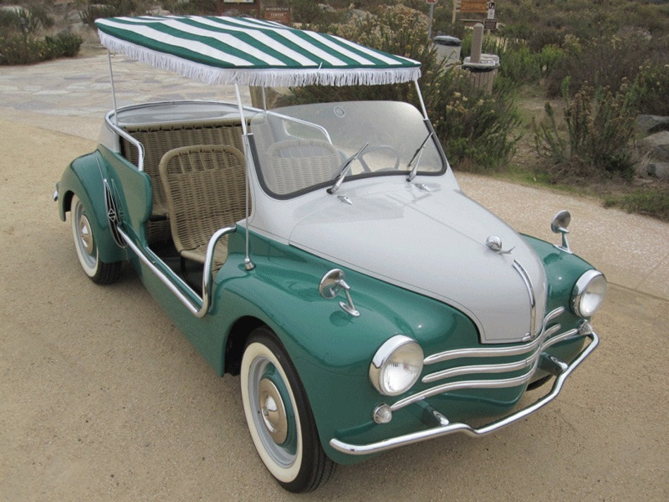 renault 4cv ghia jolly 4 auto reverse. Black Bedroom Furniture Sets. Home Design Ideas