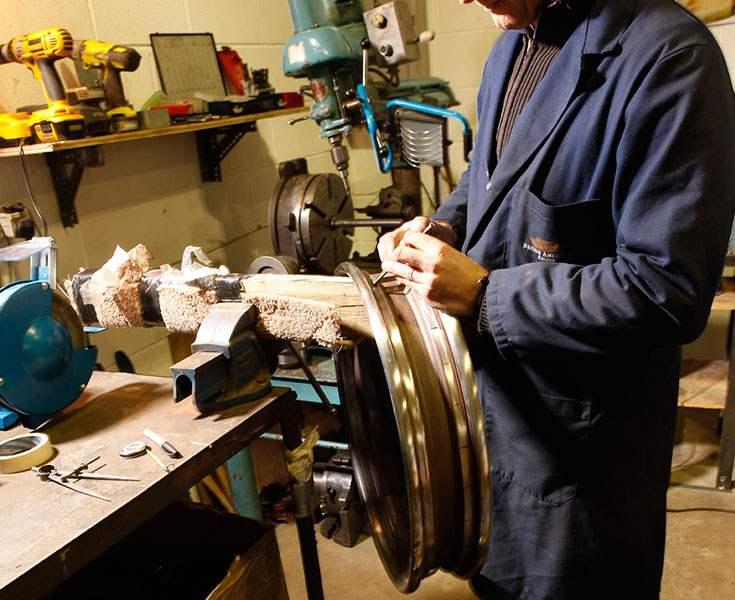 Restauration roues fil