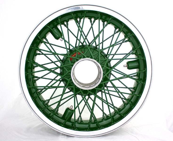 roue aluminium peinte